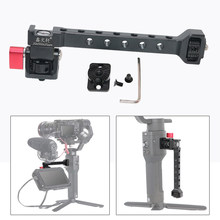 Camera Monitor Stand Barcket Mic Flash Light Stand Holder with 1/4'' Hot Shoe for Dji Ronin S SC ZHIYUN Weebill Crane 3 Gimbal(China)