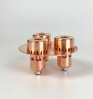 "4"" (OD105mm ) 99.9% Red Copper Pro bubble  plate for  4"" distillation column . HomeDistillation  Reflux column  Moonshine|Distillers|Home & Garden -"