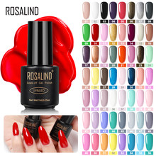 ROSALIND Gel Polish Nail Art Set Manicure Hybrid Kuku Warna Polygel Vernis Semi Permanen UV Gel Cat Kuku Gel pernis(China)