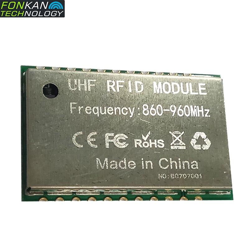 FONKAN UHF RFID Module Reading Distance 2.5M RF Power Gain 0-25dbm Adjustable Samll Size Reader With Android Development SDK
