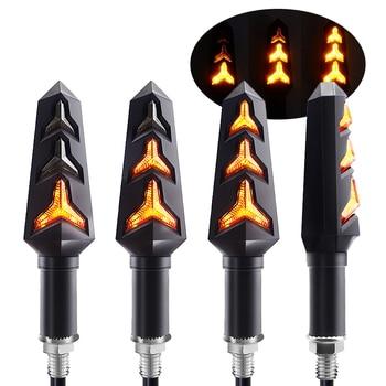 Luces de señal de giro para motocicleta LED Moto intermitente iluminaciones para SUZUKI GN 250 GSR 600 SV 650 GSF 600 bandido GN 125 GSX-R 600