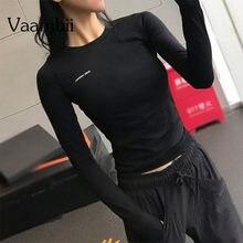 Спортивная рубашка женские футболки для бега рубашки с длинным