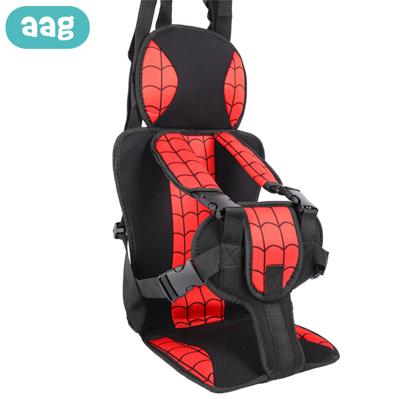 AAG Child Seat Cushion Children Travel Safety Chair Seats Pad Mat Baby Chair Belt Booster Kids Stroller Dining Chairs Carrier