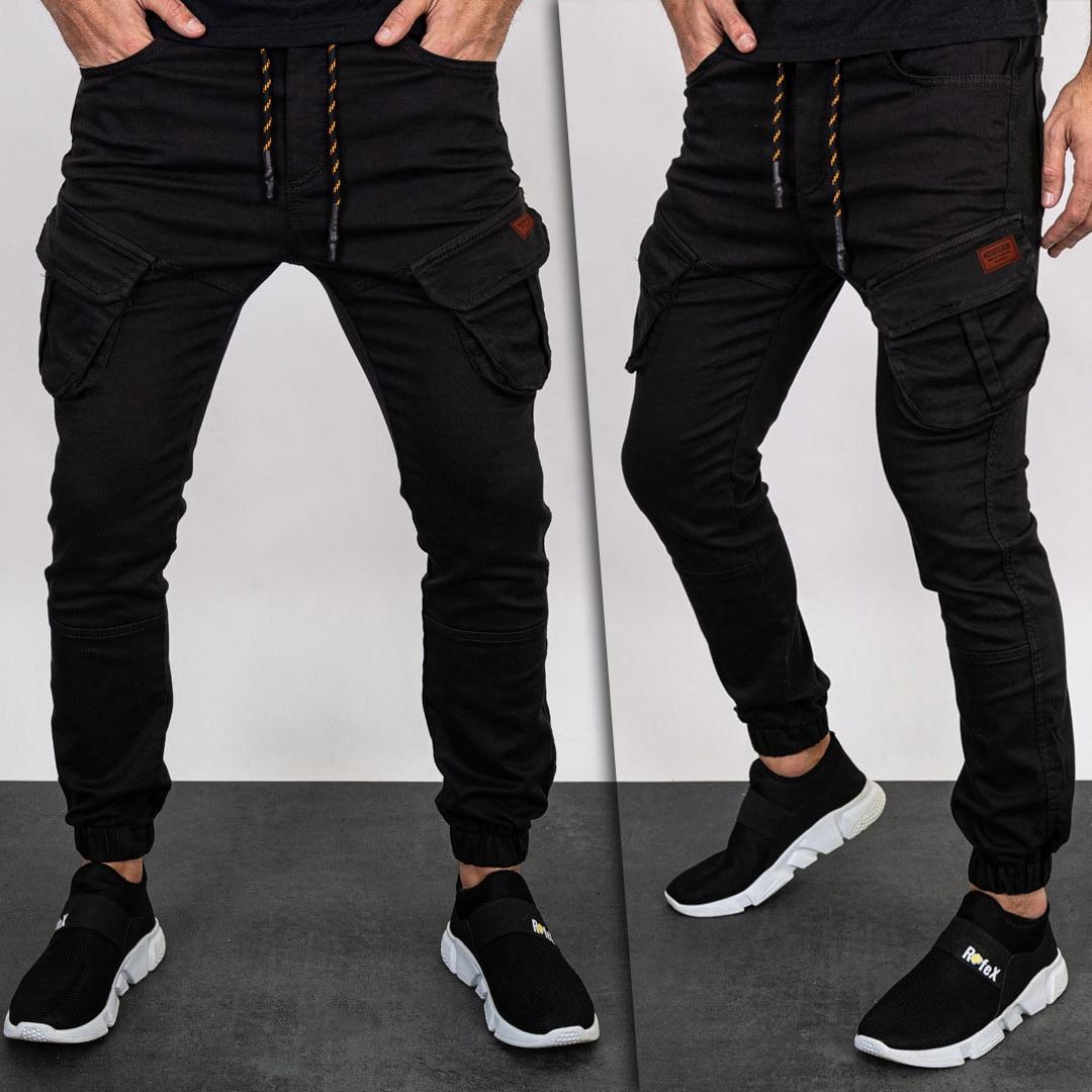 2021 Four Seasons Cargo Pant Men Joggers Harajuku Sport Thin Jogging Trousers Male Tactical Overalls Men's Slim Woven Trousers