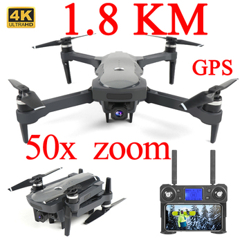 Drone Gps 1.8km 1800 4k 5G long range profissional Drone With Brushless Motor 4k Gps Drone Dual Camera Foldable Kit Follow Me 4 axis gps mini drone helicopter parts arf diy kit gps apm 2 8 flight control emax 20a esc brushless motor