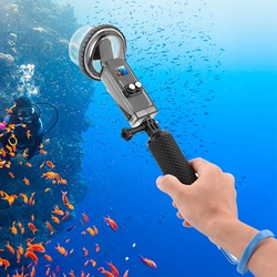 for DJI OSMO Pocket Waterproof Diving Housing Case +Buoyancy Rod 60M Underwater Surfing Protector Bag Handheld Gimbal Stabilizer