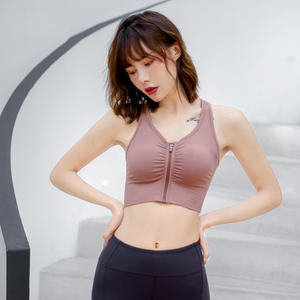 Women Sports Underwear Wireless Front Closure Bras For Women Sexy Lingerie Comfort Push Up Bra Adjusted Plus Size Bralette