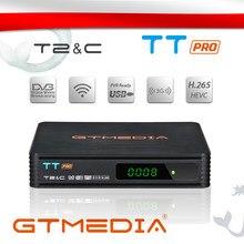 Gtmedia Tt Pro DVB-T2/T Terrestrial Ontvanger Hd Digitale Tv Tuner Dvb T2/Kabel H.264 Ondersteuning Youtube Usb wifi Decoder Set Top Box