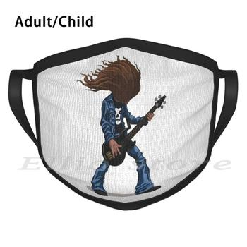 Cliff Burton Adult Kids Anti Dust DIY Scarf Mask Cliff Cliffburton Heavy Metal Metal Rock Thrash Metalhead Rocker Guitar Bass image