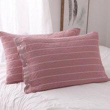 Cotton gauze all-inclusive pillowcase pillowcase three-layer thick cotton high-grade fabric soft breathable pillowcase