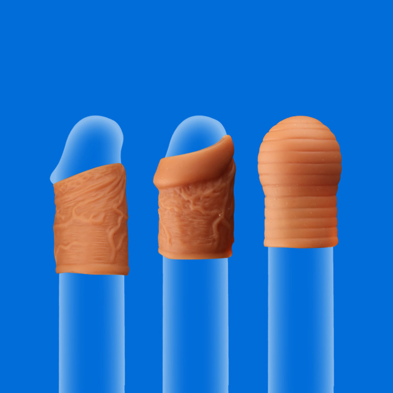 3 Types Phimosis Correction Rings Soft Silicone Penis Rings Delay Ejaculation Foreskin Corrector Cock Rings Sex Tpys For Men