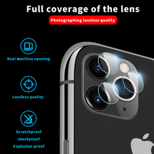 9D Tempered Glass on For iPhone11 Pro Max Anti-Scratch Back Camera Lens Screen Protector For iPhone11 Ultra Slim Protective Film lens protector for fimi palm gimbal camera anti scratch 9h tempered glass screen film pet soft film protective accessories