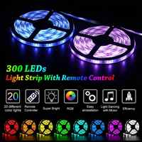 Maidodo 24V 5 м/10 м 5050 60SMD RGB светодиодный светильник полосы светильник с 44-клавишным ИК-пульта дистанционного управления + 24V 5A штекером постоянног...