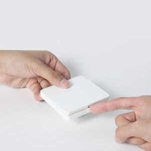 Image 4 - Originale Xiaomi Norma Mijia Smart Switch Interruttore A Parete Singola Doppia Tre Doppio interruttore di Comando Aperto 2 Modalità Lampada Intelligente Interruttori Della Luce
