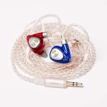 Simgot EM1 Bedrade Monitor Oortelefoon 3.5Mm In Ear Headset Noise Cancelling Hifi Oordopjes Music Player Voor Mobiele Telefoon Headset