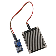 Susanda 5V Led Rain Sensor Raindrops Water Detection Humidity Moisture Module Kit for Arduino Weather Detector Monitor with Cable