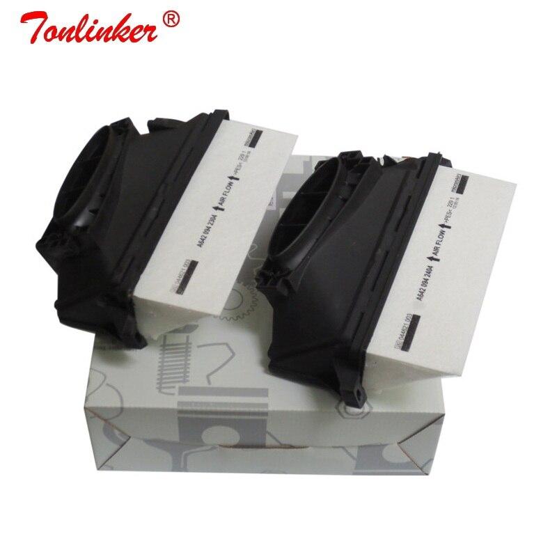 Hava filtresi için 2 adet Mercedes Benz X164 GL320 GL350 2006-/X204 GLK350 2010/ W164 ML300 ML350 2009-2011/W221 S350 2011-2013 modeli