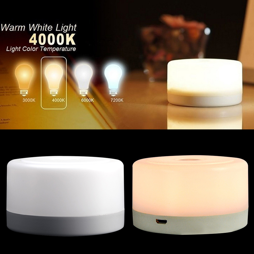 Portable Rechargeable Night Light Led Mini Kids Wireless USB Charging Bedside Baby Nursery Breastfeeding Lamp