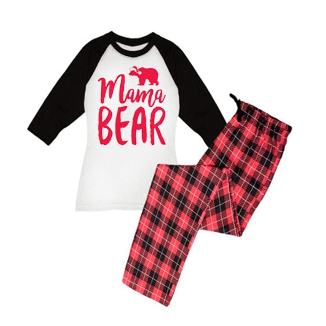 Prints Pajamas Kids Mom Dad Baby Family Pajama Set Sleepwear