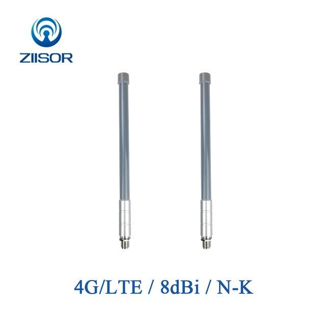 3G 4G LTE Outdoor Omni Antenna N Female Waterproof Signal Booster Base Station Fiberglass Omnidirectional Antena Z161 G4GNK35