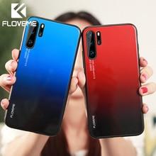 FLOVEME Glass Case For Huawei P20 P30 Lite Pro Mate 20 10 Lite Pro Phone Case Cover For Huawei P Smart 2019 Honor 8X 9 10 Lite цены