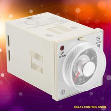 цена на H3BA-11 time relay 10S 11-Pin 200V 220V 240V Power on and off cycle delay time relay Knob Control Timing Relay