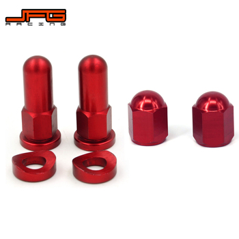 Motorcycle Rim Lock Nuts Bolts Spacer Valve Cap For HONDA CRF 250R 450R 250X 450X 250 450 450RX 250RX CR 125 250 CR250 Dirt Bike image