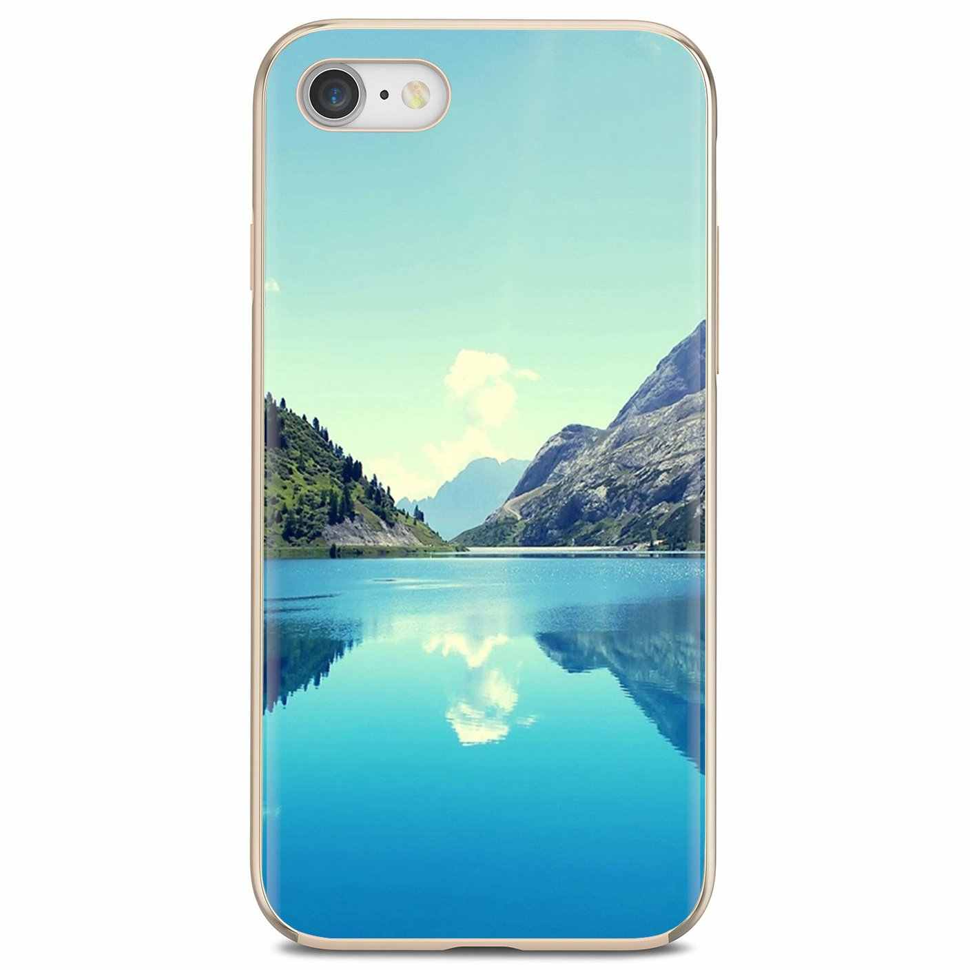 Magnificent Nature Scenery Wallpaper 2 Soft Cover For Iphone 11 Pro 4 4s 5 5s Se 5c 6 6s 7 8 X 10 Xr Xs Plus Max For Ipod Touch Half Wrapped Cases Aliexpress