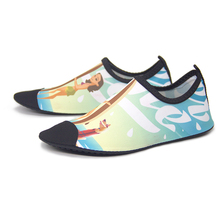 QEJEVI Unisex Sneakers Shoes Swimming Quick-Drying Aqua Surfing Breathable Flats Slippers Water Sandals Beach Тапки Для Плавания