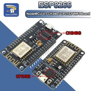 New Wireless Module CH340 CH340G / CP2102 NodeMcu V3 V2 4M Lua WIFI Internet of Things Development Board Based ESP8266(China)