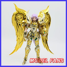 Figurine de club en métal MC, âme de bélier doré mu Saint Seiya, armure en métal, tissu de mythe, modèle en STOCK