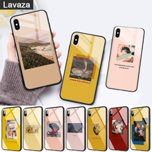 WEBBEDEPP Great art aesthetic Flower Glass Phone Case for Apple iPhone 11 Pro X XS Max 6 6S 7 8 Plus 5 5S SE