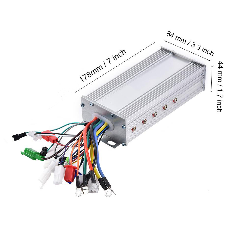 36V/48V 1000W Electric Bike Brushless Controller Brushless Motor Sine Wave Controller Electric Bicycle Scooter Accessories