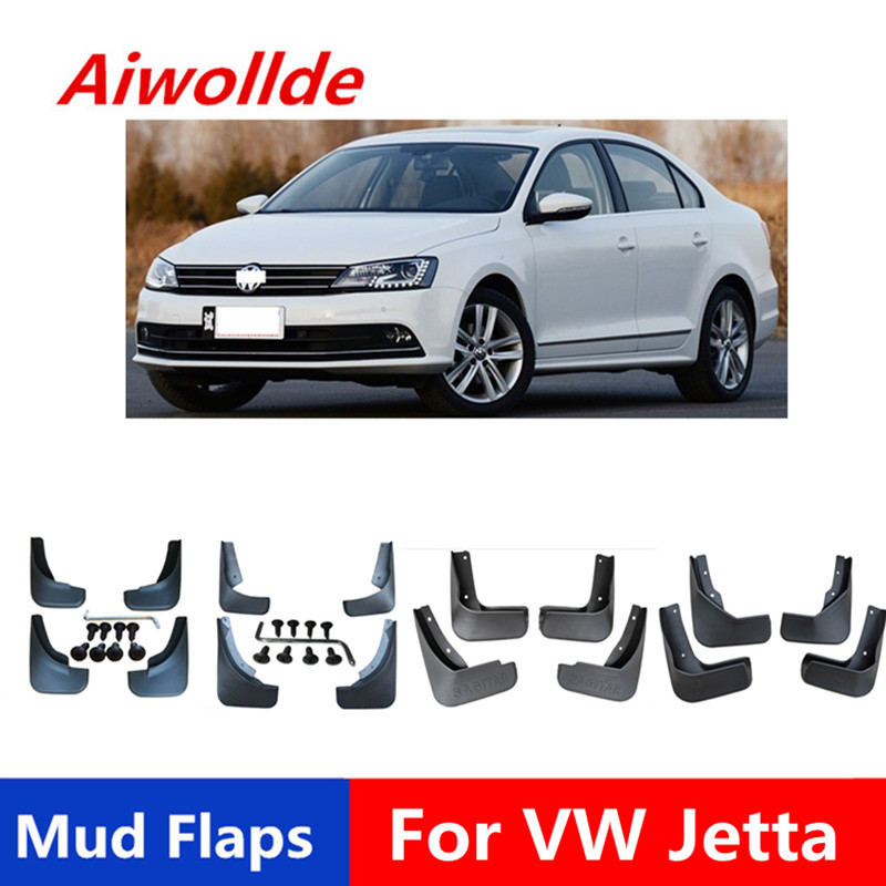 Car Mud Flaps For Volkswagen <font><b>VW</b></font> JETTA / GOLF 1998-2018 <font><b>Mudflaps</b></font> Splash Guards Mud Flap Mudguards Fender image