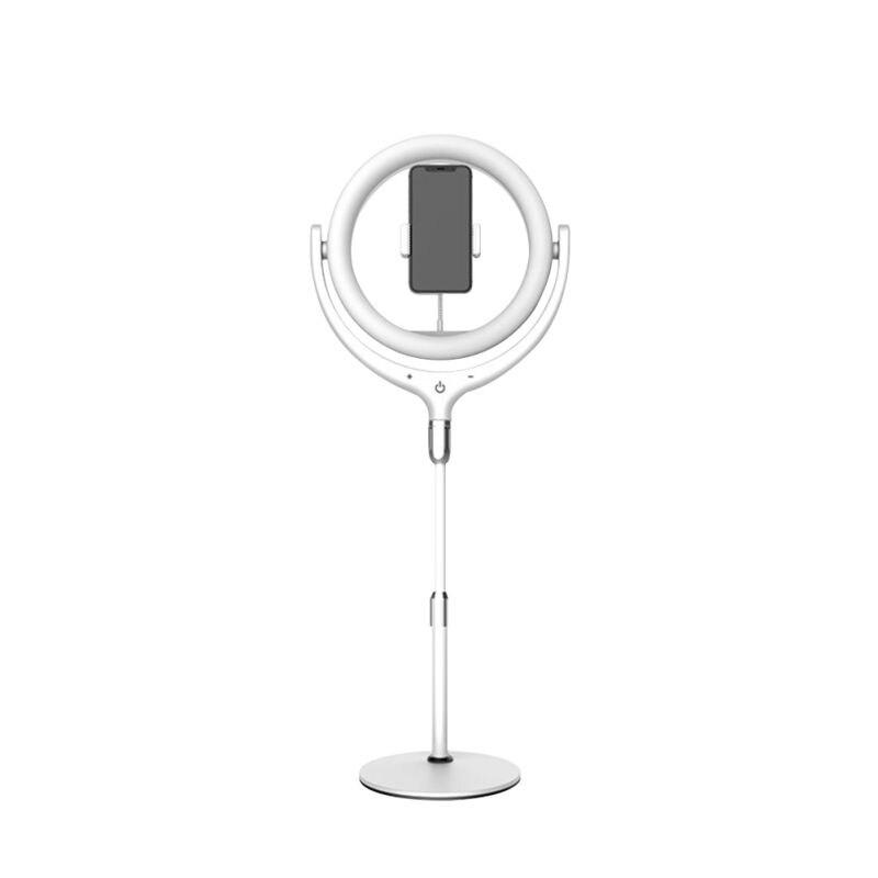 Anneau de téléphone remplir la lumière Selfie vidéo Photo lampe support de smartphone réglable