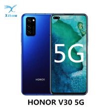 "Honor V30 5G Smartphone 6GB RAM 128GB ROM 6.57"" SuperCharge 4200mAh NFC Kirin 990 Octa Core 40MP Triple Rear Camera Cellphones"