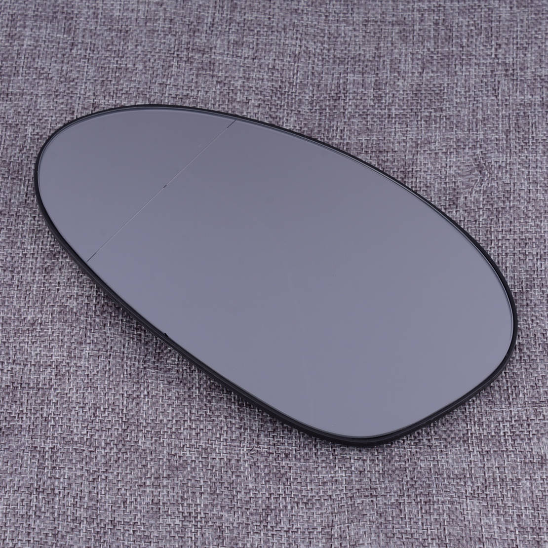 2 Pin Car Left <font><b>Side</b></font> Wing Door <font><b>Mirror</b></font> Glass Heated White Fit for <font><b>BMW</b></font> E82 E90 E91 E92 3-Series <font><b>E46</b></font> <font><b>M3</b></font> E85 Z4 E86 51167157247 image