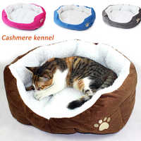 40x50 centímetros Gato Cama Cutton Macio E Confortável Casa de Cachorro Gatos Cão de Outono E Inverno Quente Saco De Dormir Ninho canil Ninho Pet Products
