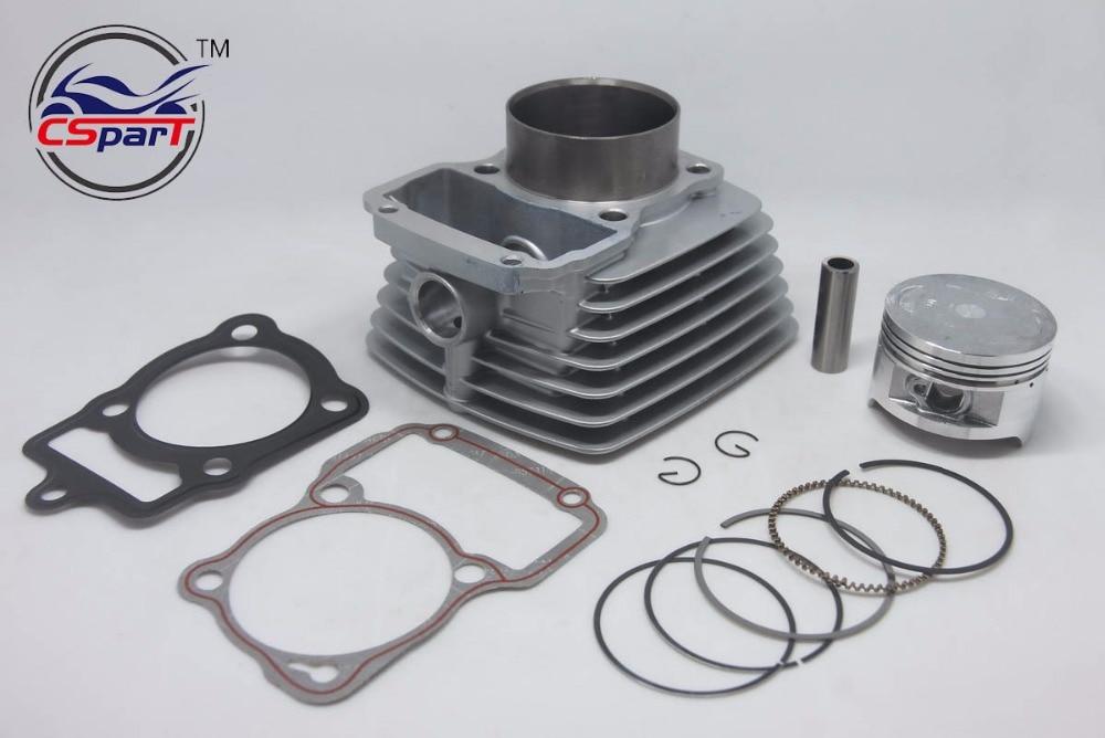 63.5mm Cylinder Piston Ring Gasket Kit Air 200CC Zongshen Shineray Bashan Taotao  Dirt Bike Pit  ATVs Quad