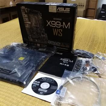 ASUS X99-M WS Workstation motherboard Supports M.2 interface USB 3.1 support wifi new original motherboard