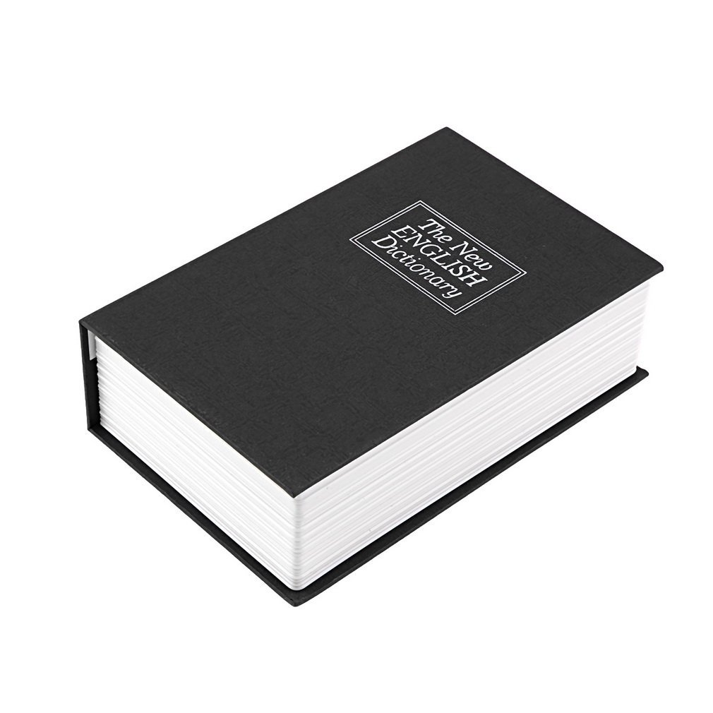 Security Box Dictionary Key Book Safe Lock Box Storage Piggy Bank Creative Money Coins Box Home Accessories