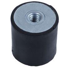 M8 30x30 мм двухсторонние анти резиновые вибрации буфера изолятор катушки