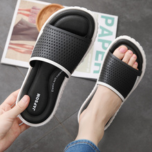 men soft massage beach slippers comfortable flip flops for men gold blue bathroom slippers mens casual beach shoes male 2020 Summer Slippers Men Casual Shoes Sandals Leisure Slides Eva Massage Beach Slippers Bathroom Shoes Mens Sandals Flip Flops