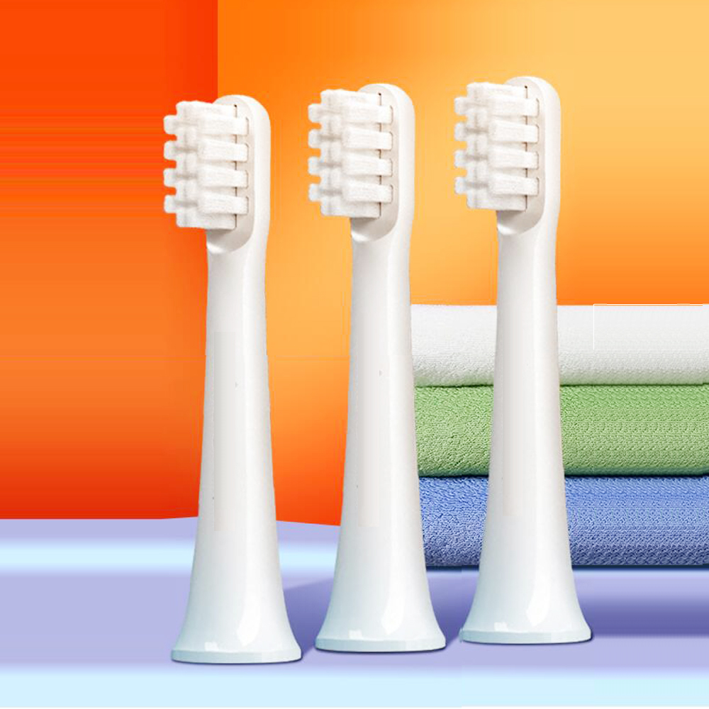 For Xiaomi Mijia T100 Mi Smart Electric Toothbrush Heads Replacement Heads image