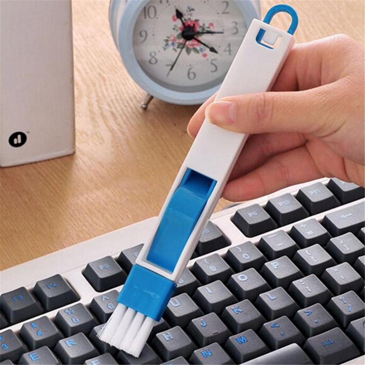 Multifunctional Keyboard Dust Cleaning Brush 2 In 1drawer Cupboard Corner Cleaning Dust Cleaning Brush