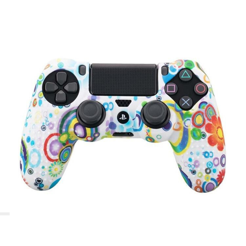 Soft Silicone Protection Case Cover For SONY Playstation 4 PS4 Controller Protective Camo Skin Case For PS4 Pro PS4 Slim Gamepad