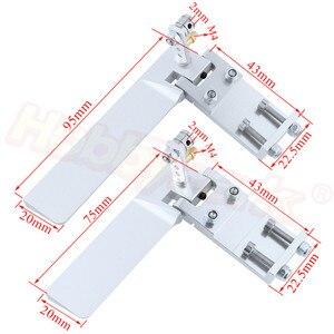 Aluminum 75mm 95mm Long RC Boa