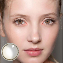 Beautiful Pupil Color Contact Lenses Monthly Throw Female Pa