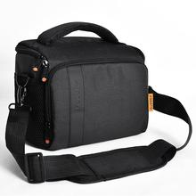 FOSOTO דיגיטלי DSLR מצלמה תיק עמיד למים כתף תיק וידאו מצלמה מקרה עבור Canon Nikon Sony עדשת פאוץ צילום תמונה תיק