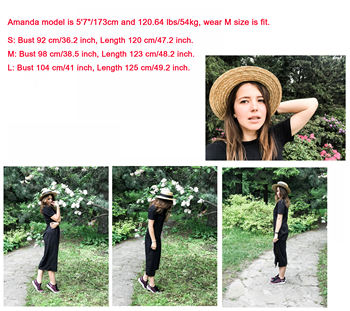 Maxi T Shirt Dress Women Summer Christmas Party Sexy Vintage Bandage Knitted Boho Bodycon Casual Black Long Dresses Plus Size 2